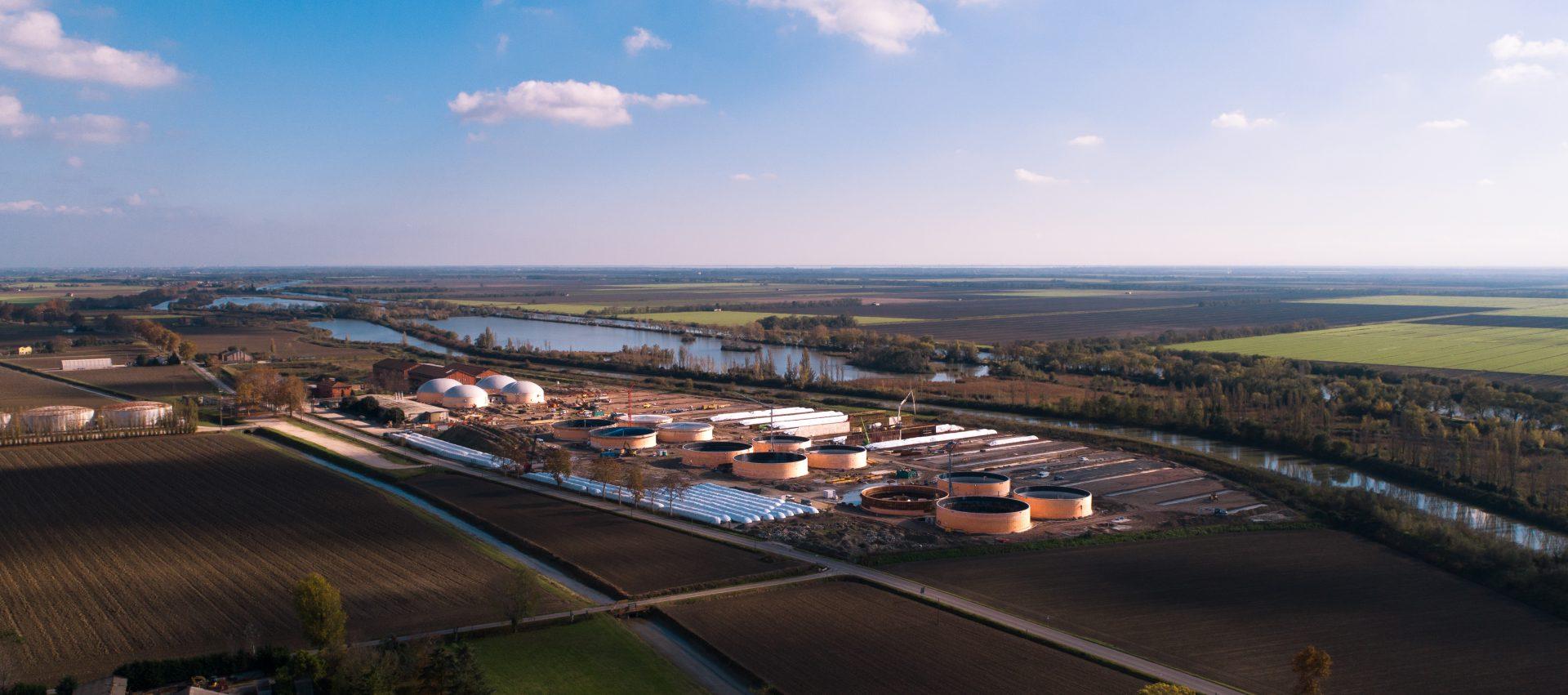 IES Biogas | Costruzione impianti biogas a Ostellato